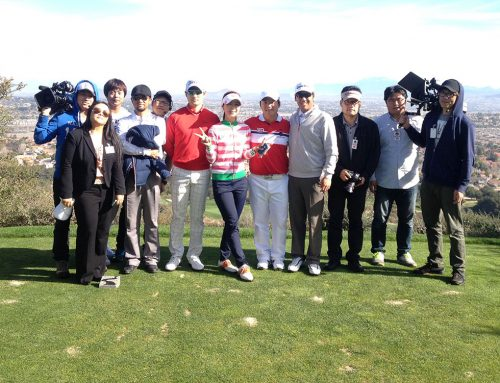 Golf Star Ryu Hyun-Woo & Jgolf Team