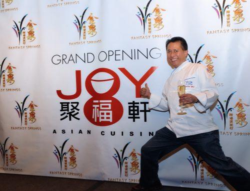 Joy Asian Cuisine Grand Opening at Fantasy Springs
